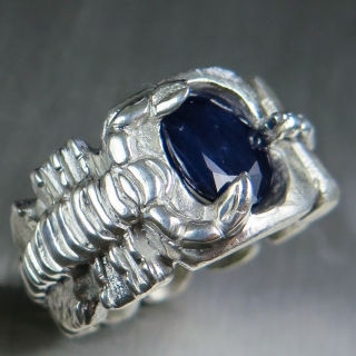 3.2ct Natural Dark blue..