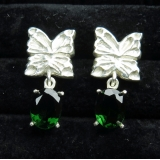 Natural Chrome Diopside Silver / gold ..