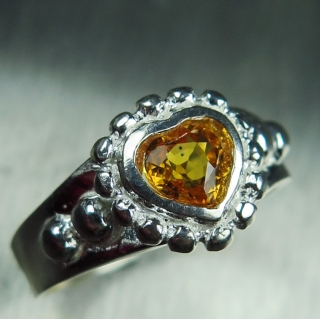 0.60ct Natural Yellow S..