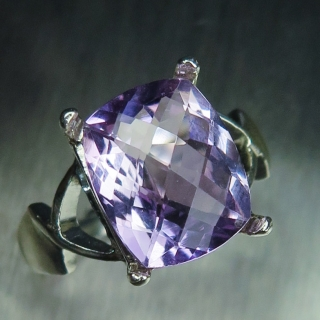 4.4ct Natural Light Purple Amethyst Si..