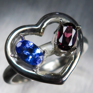 Natural Tanzanite & gar..
