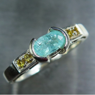 0.55ct Natural paraiba blue tourmaline..