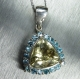 2.7ct Natural yellow heliodor beryl Silver/ Gold/ Platinum pendant