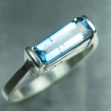 Natural Blue Indicolite tourmaline 925..