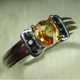 0.75ct Natural fire ora..