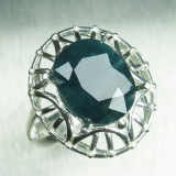 4.65ct Natural RARE grandidierite Blue..