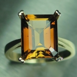5.15ct Natural Imperial Topaz 9ct 375 ..