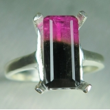 3.15ct Natural bi-colour Watermelon to..