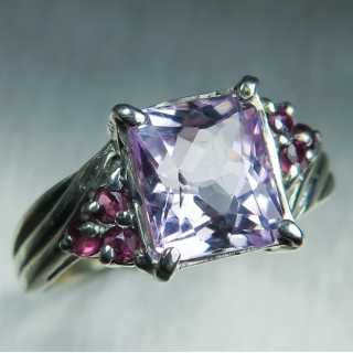 SALE: 2.7ct Natural pink Kunzite & rub..