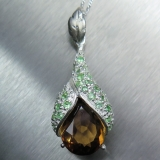 7.85ct Natural Imperial Topaz Silver/G..