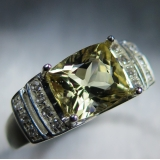 2.3ct Natural Yellow Heliodor Beryl Si..