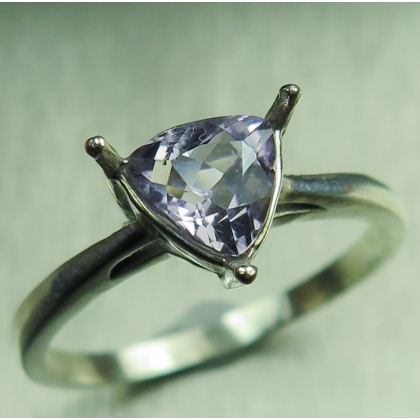 0.7ct Natural scapolite Silver/ Gold /Platinum engagement ring