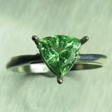 Natural Tsavorite Garnet Mint Green Si..