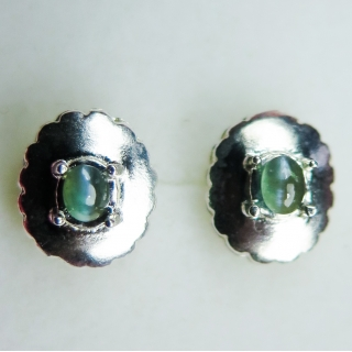 0.65cts Alexandrite cat's eye Sterling..