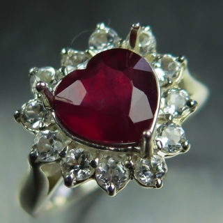 2.50ct Natural Ruby pig..