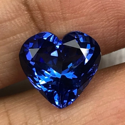 Premium Certified 4.6cts Natural Tanzanite for bespoke jewellery