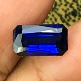 Certified 2.65cts Natural Royal blue S..