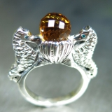 2.8ct Natural Orange Citrine Silver /G..