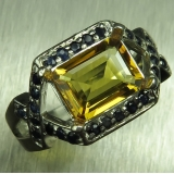 1.9ct Natural Yellow Heliodor Beryl Si..
