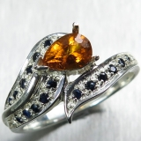 1.75ct Rare Natural orange Clinohumite..