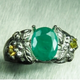 1.2ct Natural Zambian Emerald &sapphir..