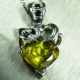 2.3ct Natural canary yellow Sphene..