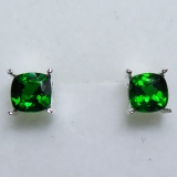 2.1ct Natural Chrome Diopside Silver /..