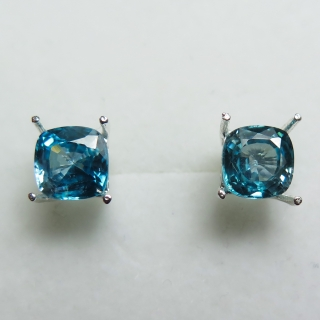 Natural paraiba blue Zircon Silver / g..