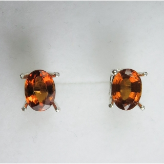 Natural Hessonite Garnet Cinnamon oran..