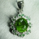 4.55ct Natural Green peridot &tsav..