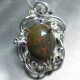 6.3ct Natural Welo Opal Silver/Gol..
