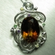 16.6ct Natural Imperial Topaz Silv..