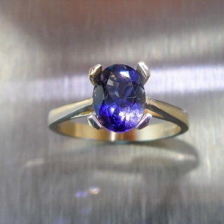0.95cts Natural Purple ..