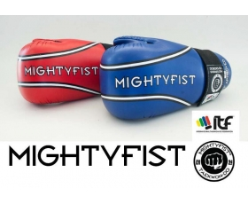 MIGHTYFIST Open Gloves Semi Contact. ITF. PU