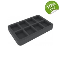 FOW 8 Large Style Bases Foam Tray