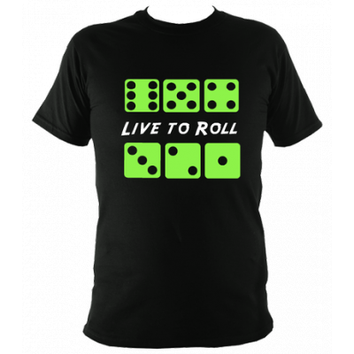 Live To Roll T Shirt