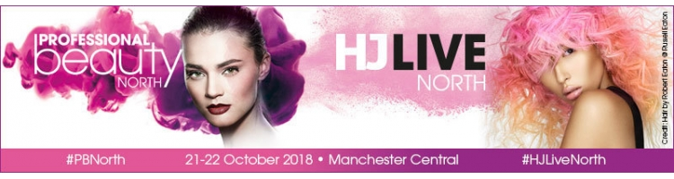Professional Beauty & HJ Live North - 21-22 October 2018 - Manchester Central