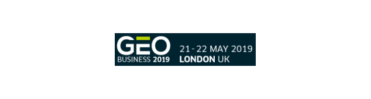 GEO Business 2019 - 21-22 May 2019 - Business Design Centre, London