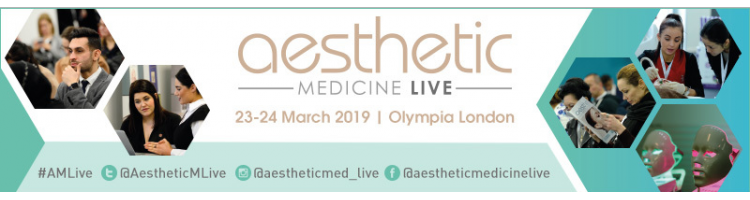 Aesthetic Medicine Live 2019 - 23-24 March 2019 - Olympia London