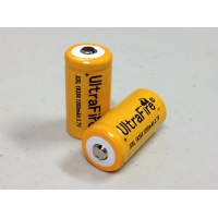 Ultrafire 18350 Rechargeable Batteries- Yellow Label