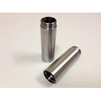 Battery Extension Tube- Stainless Steel