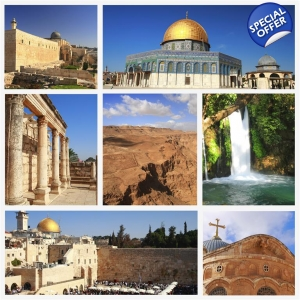 17 days Israel, Jordan, and Egypt