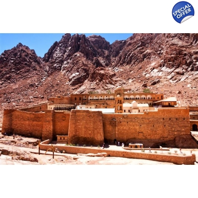 Mount Sinai & St.Catherine  1 day tour title=
