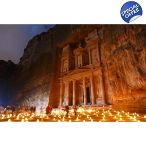 Petra and Wad Rum 2 days from Sharm Egypt