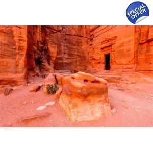 Petra from the Dead Sea