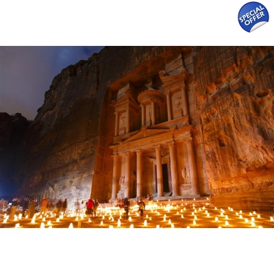 Petra, Masada, and Dead Sea 3 days title=