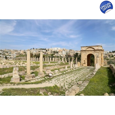 Jerash daily tour from Amman title=