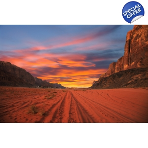 Petra, Wadi Rum, Jerash, Madaba, Dead Sea 4 days