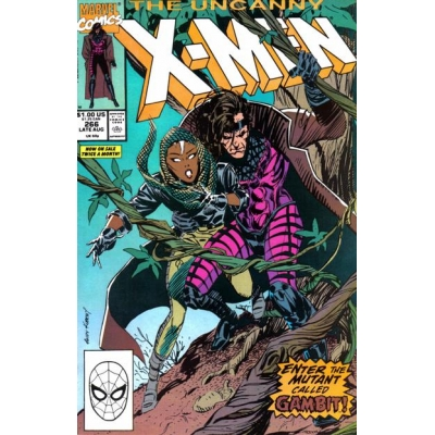Uncanny X-Men [1981] 266 [Direct Edition] [VF+]