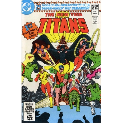New Teen Titans 1 [1980] [Direct Sales Variant] [FN/VF]